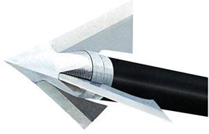 QAD Exodus Nonbarb Full-Blade Broadhead